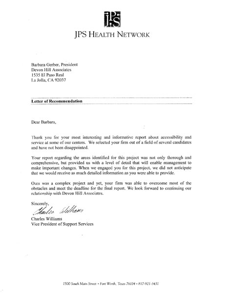 client feedback from JPS Health Network